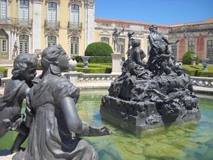 Достопримечательности Португалии. Королевский дворец Келуш.( Palacio de Queluz) . Фото