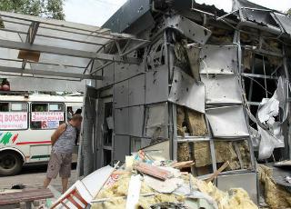 В Донецке ситуация стабильно тяжелая 02 09 2014