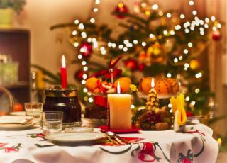 Святковий стіл на 2015 рік