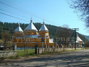 Дерев'яна церква Симеона Стовпника, 1878р. у селі Мариничі. ФОТО