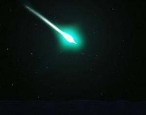 Яркие огненные шары,  пронесшиеся в небе над семью штатами,  оказались метеоритом
