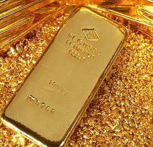 Стоимость золота находится под давлением.